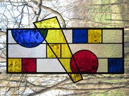 stained glass prairie style lee