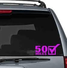 50k Car Sticker Bumper Stickers Car Stickers Running Bumper Stickers