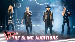 The Blind Auditions: The Coaches sing ...