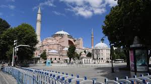 Turquie : première prière musulmane à la basilique Sainte-Sophie ...