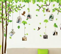 180 300cm Green Tree Wall Stickers Movable Wall Stick Family Wall In Decors