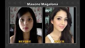 filipina celebrities before and after