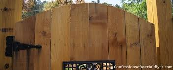 How To Build A Gate With A Window Confessions Of A Serial Do It Yourselfer