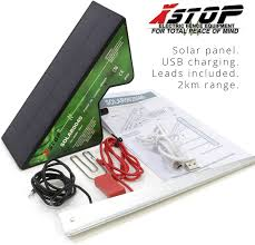 Xstop 2 Km Compact Solar Powered Electric Fence Energiser All Leads And Earth S Business Office Industrial Livestock Supplies Pavanelloprojetos Com Br