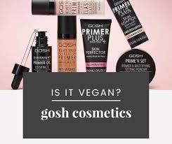 gosh cosmetics vegan