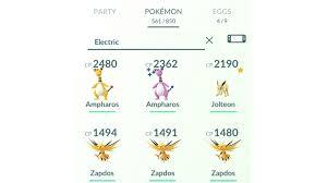 Pokémon GO Search Strings Cheat Sheet