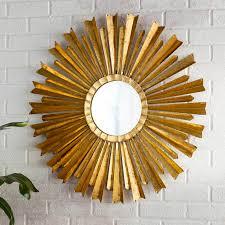 birksgate sunburst accent mirror