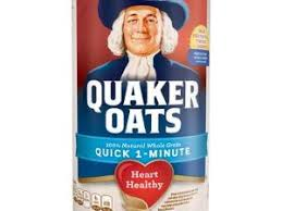 quick 1 minute oatmeal nutrition facts