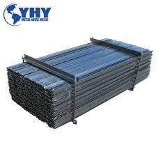 China Black Spraying Heavy Duty Y Type Fence Post China Y Picket Fence Posts Y Shaped Fence Post