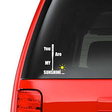 You Are My Sunshine 5 Car Decal St Buy Online In Faroe Islands At Desertcart