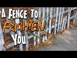 Diy Halloween Fence For Your Yard Display Halloween Decoration Idea Youtube