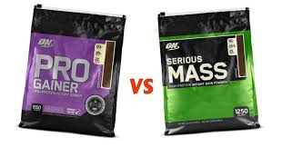 on pro gainer vs serious m which