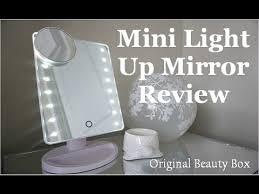 mini light up vanity mirror review