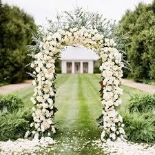 wedding garden bridal party decoration