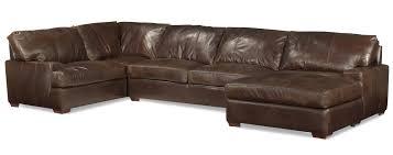 usa premium leather 3635 track arm sofa