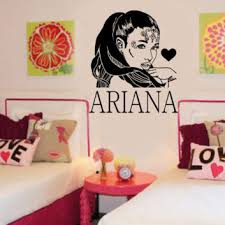 Ariana Grande Diy Wall Art Sticker Decal Ebay