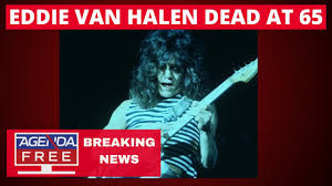 Eddie Van Halen Dead at 65 - LIVE BREAKING NEWS COVERAGE - YouTube