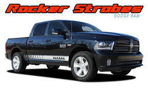 Rocker Strobes Dodge Ram Stripes Ram Decals Ram Vinyl Graphics