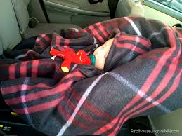 tutorials for making a car seat poncho