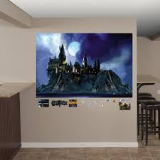 Fathead Harry Potter Hogwarts Castle Peel And Stick Wall Decal Reviews Wayfair