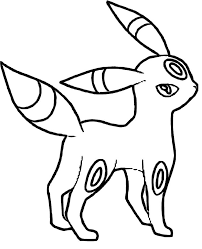 Umbreon Pokemon Coloring Pages Umbreon Pokemon Coloring Pages