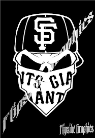 San Francisco Giants Decal Windows Cars Trucks Tailgates Laptop Bumper Sticker 14