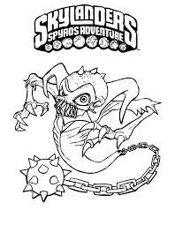 Skylanders Spyros Adventure Tekeningen 5