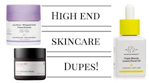 dupes for high end skincare drunk