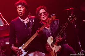 I took this photo of Brownmark and Wendy Melvoin from The Revolution on  stage at First Avenue last Sunday night (7/23) : PRINCE