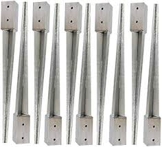 Heavy Duty Galvanised Fence Post Spikes By Fencepostspikes Uk 10