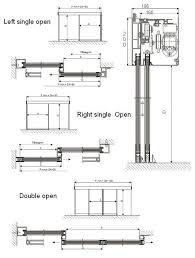 drawn door sliding door pencil and in