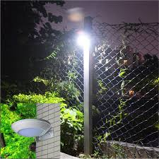 Newest Microwave Radar Motion Sensor Led Solar Light 16leds 260lm Waterproof Street Lamp Outdoor Wall Security Spot Lighting Secure Home Light Light Ballastsecurity Door Controls Electronic Door Locks Aliexpress