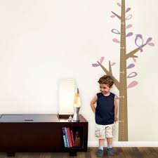Growth Chart Ruler Decal Children S Vinyl Wall Decal