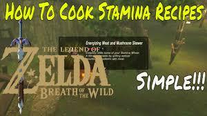 recipes zelda breath of the wild stamina