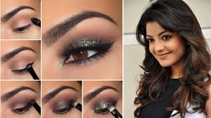 indian party makeup hairstyle step by