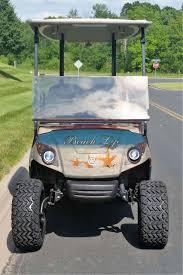 Custom Golf Cart Wraps