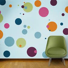 Polka Dot Wall Stencils For Kids Room Or Baby Nursery Etsy Polka Dot Room Kids Room Paint Polka Dot Walls