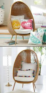 Loooove This Woven Egg Chair Perfect For A Kids Room Or Playroom Eggchair Chair Homedecor Seating Kidsro Home Decor Accessories Home Decor Nursery Chair