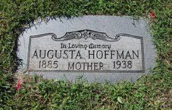 Augusta Hoffman (1885-1938) - Find A Grave Memorial