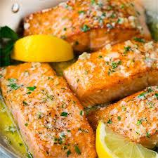 Pan Seared Salmon with Garlic Butter ...
