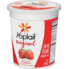 yoplait original strawberry gluten