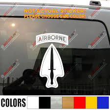 Special Operations Command Airborne Army Car Truck Decal Sticker Vinyl Die Cut No Background Vinyl Window Sticker Vinyl Wall Decals Nurserysticker Vinyl Aliexpress