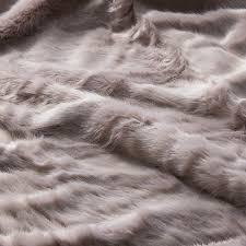 himalayan luxury fur blanket dusty pink