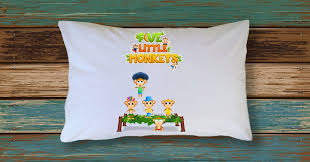 nursery rhyme pillow case toddler