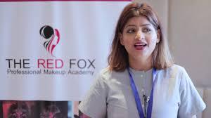 makeup artist in delhi the red fox