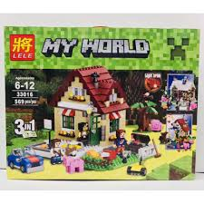BỘ XẾP HÌNH LEGO MINECRAFT MY WORLD 3 TRONG 1. GỒM 569 CHI TIẾT ...