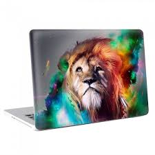 Abtract Art Lion Macbook Skin Decal