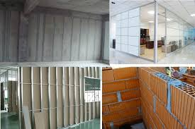 types of partition walls for homes and