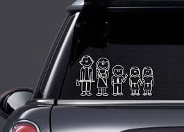 The Shining Stick Family Inspired Vinyl Decal Etsy