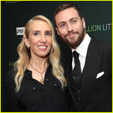 Aaron Taylor-Johnson & Wife Sam Step Out for 'A Million Little ...